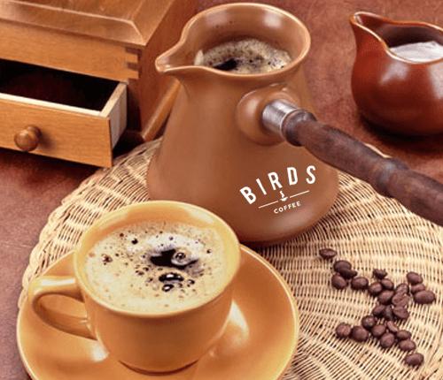 cách pha cà phê nấu sôi