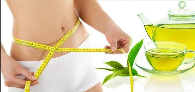 chè xanh giúp giảm cân
