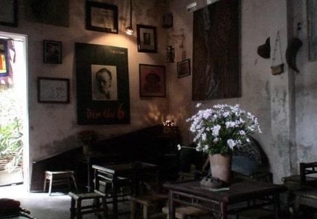 quán cà phê trịnh