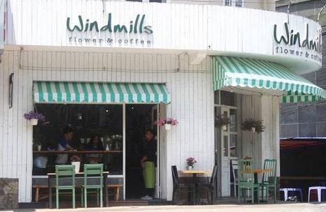 quán windmills coffee