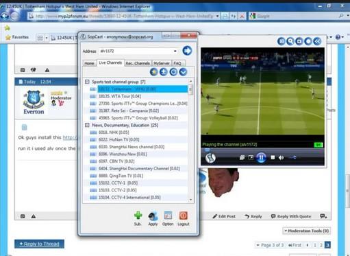 Một số ứng dụng xem bóng đá trực tuyến nhanh mượt