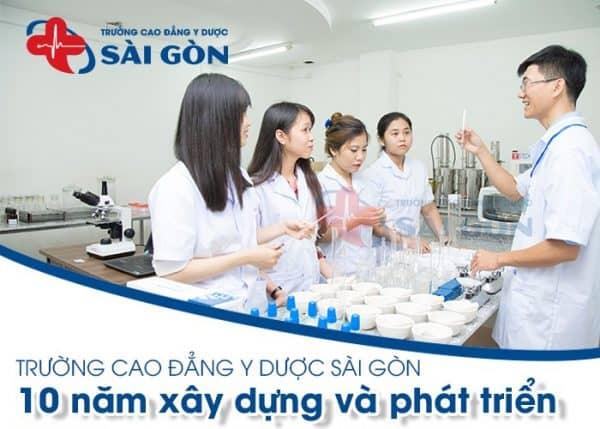 Tổng hợp các trường cao đẳng y dược ở TPHCM tốt nhất