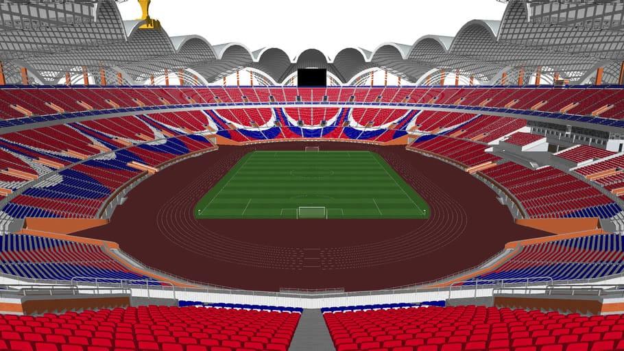 Một số thông tin về những sân vận động lớn nhất thế giới